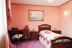 Girls Bedroom White Furniture Bedroom With Wall Mirror And White Furniture Including Single Bed