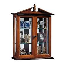 Wall Curio Cabinet Glass Doors Wall Mounted Curio Cabinet Country Hardwood Wall Curio Cabinet