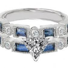 sapphire rings ebay images Best place to sell used jewelry pawn shop mens wedding bands pawn jpg