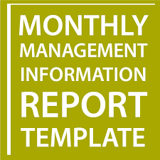 Monthly It Report Template For Management by Monthly Management Information Report Template Sell Your Business