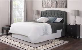 bedroom amazing leather upholstered headboard queen fabric