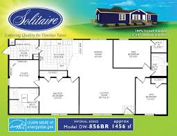 floorplans for wide manufactured homes solitaire homes