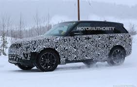 land rover sports car 2018 land rover range rover sport spy shots