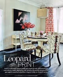 Leopard Dining Room Chairs Home Design Planning Cool And Leopard - Animal print dining room chairs