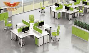 Office Workstation Desk Fsc Forest Certified Approved By Sgs 2016 New Fashion Design