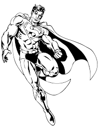 awesome superman superhero coloring u0026 coloring pages