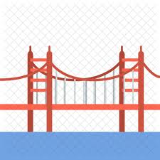 California travel icons images Golden gate bridge vacation holidays sea travel icon png