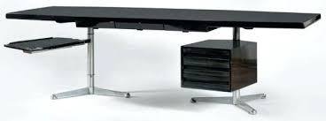 grand bureau noir grand bureau noir osvaldo borsani 1911 1985 grand bureau plat en
