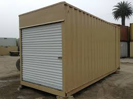 container modifications converted cargo containers container