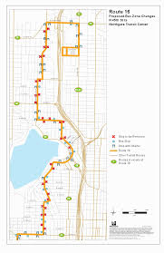 Seattle Metro Bus Routes Map by Route 16 Stop Consolidation