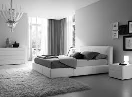 chambre noir gris chambre moderne adulte blanche