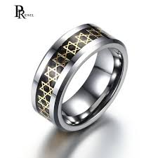 s day rings classic of david ring for men s women stainless steel 8mm