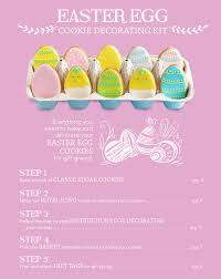 easter egg decorating kits easter egg cookie decorating kit domino sugar