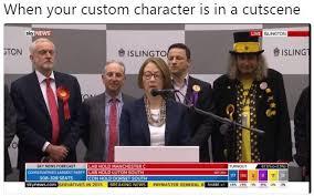 Meme Custom - 2017 united kingdom general election when your custom character