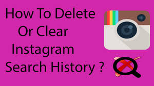delete search history android how to clear or delete search history on instagram on android