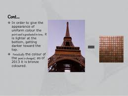 asthetics of eiffel tower