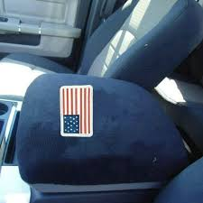 dodge ram center console cover chuang qian auto truck usa flag center console armrest protector