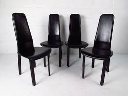Italian Leather Dining Chairs 20 Collection Of High Back Leather Dining Chairs Dining Room Ideas