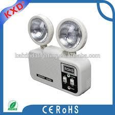 emergency lights with battery backup twin head battery backup rechargeable led fire emergency light buy