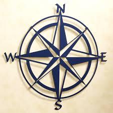 compass rose indoor outdoor metal wall art decorative metal
