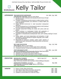 Best Teaching Resumes by Teaching Resume Templates The 25 Best Teacher Resume Template