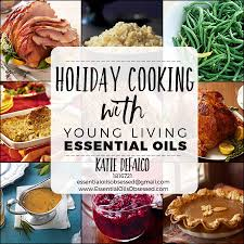 cooking with living essential oils