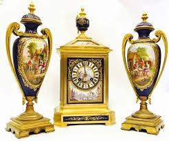 Mantel Clocks Antique London Antique Clockcentre Beautiful Antique Hand Painted