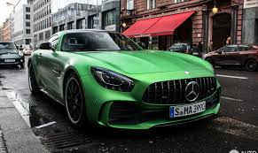 mercedes green mercedes amg gt r beast of green hell in berlin mercedesblog
