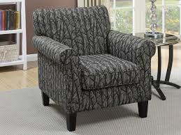 Animal Print Accent Chair Furniture 54 Poundex F1528 Fabric Print Chenille Accent Chair