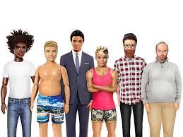 lyst reimagines ken match barbie