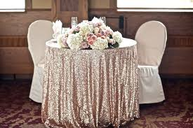 cheap wedding linens sequin tablecloths where to find affordable ones