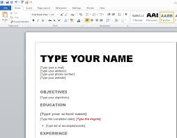 how to create a resume for free resume template and professional