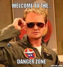 Meme Zone - neil patrick harris welcomes you to the danger zone meme