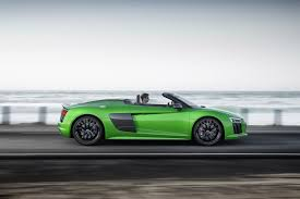 lexus lfa or audi r8 2017 audi r8 v10 spyder first test look and listen motor trend