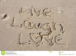 Love Laugh Live Live Love Laugh Reminder Notes Stock Photo Image 40647314