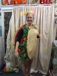 Taco Costume Giant Taco Costume Bam Bam Costume Hire