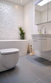 best mosaic tile bathrooms ideas pinterest grey love the mother pearl tile wall with light grey floor