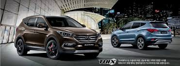 hyundai crossover 2016 2016 hyundai santa fe facelift revealed in south korea autoevolution