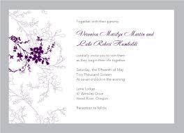 Sample Invitation Card For Wedding Wedding Invitation Cards Sample Iidaemilia Com