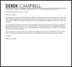 sample assistant property manager cover letter resume samples