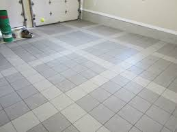 Garage Floor Tiles Cheap With These Garage Floor Tiles Made Of Porcelain Everything Runs