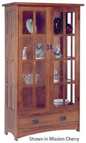 mission style china cabinet nobility mission curio china cabinet for the house pinterest