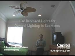 Bedroom Recessed Lighting 5 Lighting Mistakes Bedroom Lighting