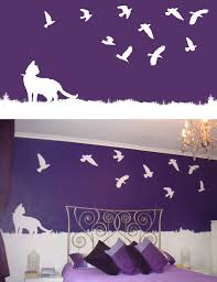 Wall Painting Designs For Bedroom by Design My Wall Jumply Co