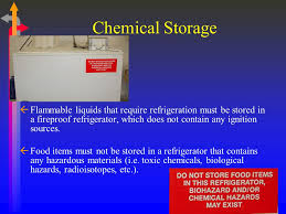 what should be stored in a flammable storage cabinet toxic chemicals lab safety dr ramy y morjan assistant professor