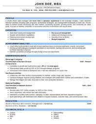 Resume For Sales Executive Job by Account Manager Resume Examples Sample Resume Format For Sales
