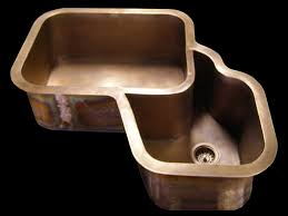 Corner Sink For Kitchen by Copper Sinks By Circle City Copperworks Custom Copper Sinks