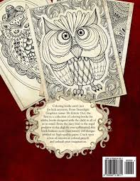 coloring amazonm the eclectic owl an adultloring book