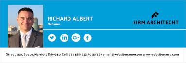 Architect Signature 64 Email Signature Designs Download U0026 Edit Easily Free