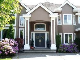 color house paint outside exterior combination modern and